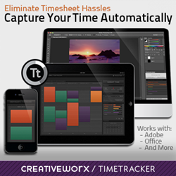 CreativeWorx TimeTracker now works with QuickBooks to simplify the timesheet process.
