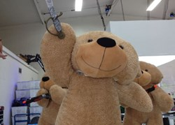 Giant Teddy Shaggy Cuddles big teddy bear 60in