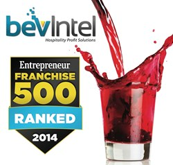 Bevintel ranked #129 in Entrepreneur's Franchise 500®