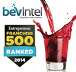Bevintel ranked in Entrepreneur's Franchise 500