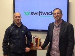 Swiftwick regional managers, Wil Emery (L) and Tim Dennis (R), are embarking on a new Swiftwick journey by opening new offices in Austin, Texas and Denver to better serve the western states.