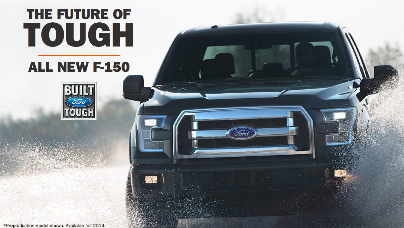 Ford Dealerships In Maryland >> All-New 2015 Ford F-150 Revealed at Detroit Auto Show, Maryland Ford Dealers Highly Anticipate ...
