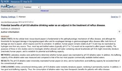 Alkaline Water Benefits people with Acid Reflux Disease