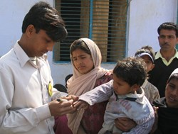 PCI celebrates India being declared polio-free