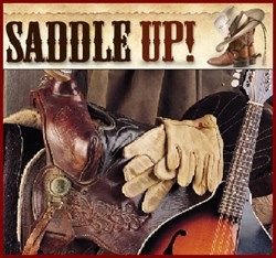 saddle fiddle and gloves