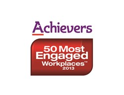 Acheievers' '50 Most Engaged Workplaces' logo