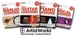 ArtistWorks Giftcards at NAMM