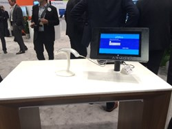 Mobile cash wrap integrates with ArmorActive tablet enclosure at Microsoft booth at NRF
