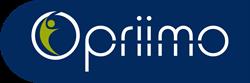 Opriimo Logo Blue Background