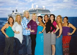 Bella Reina Spa Team Aboard Celebrity Reflection