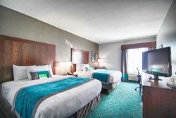 Double queen guest room - La Quinta Inn & Suites Fort Worth
