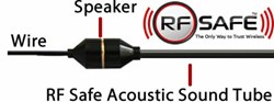 Radiation Safe Headset - On Stage Sound - RF Safe Acoustic Sound Tube Technology