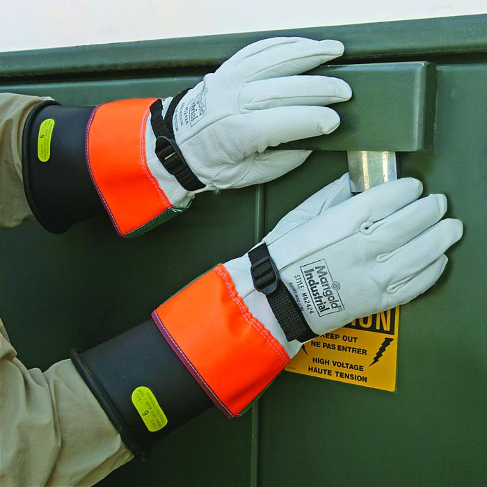 Marigold 174 Industrial Rubber Insulating Gloves From Ansell
