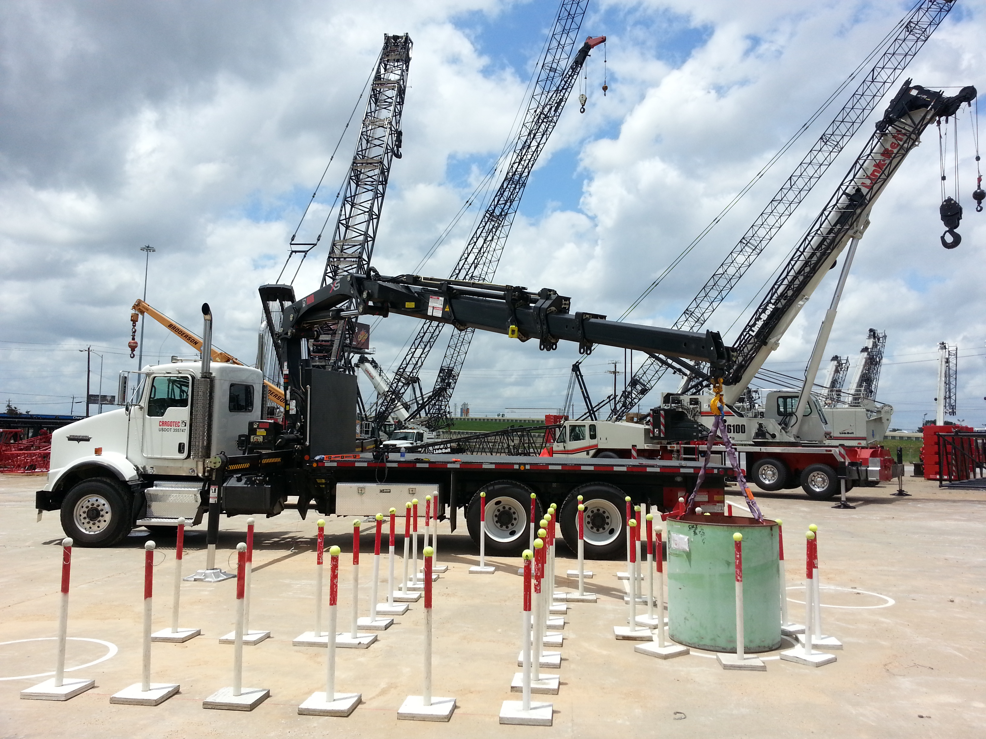 Mobile Crane Inspector Certification : Cicb to provide nccco crane operator prep training and