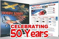 From RC print catalogs to online shopping and 3 million visits annually, Hobby Express celebrates 50 years.