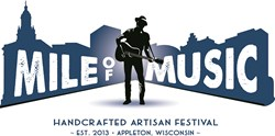 Mile of Music Festival in Downtown Appleton