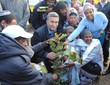 For Tu B'shvat, Ethiopian Immigrants Plant Roots in Israel --...