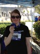 Katie Smith at the Calabasas Classic 5k/10k  Jog-A-Thon benefiting the Talbert Family Foundation