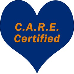 Each CARE Program participant receives a certificate and lapel pin
