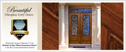 GlassCraft Fiberglass Entry Door