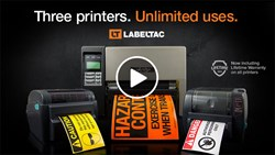 LabelTac Labeling System with Lifetime Warranty