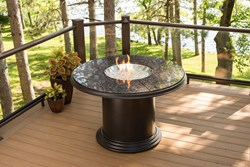 Grand Colonial Dining Fire Pit Table