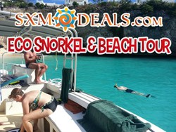 Eco Snorkel And Beach Tour - St. Maarten