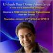 Experience a Beneficial Live Webcast 'Unleash Divine Abundance' from...