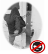 Anti-Kick Door Security Device Saves Female from Attack  | Door Devil...