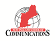 Logo for the New England School of Communications at Husson University.