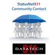 DataTech911 Announces the Release of StatusNet911 Community Contact