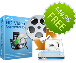 WinX HD Video Converter Deluxe Giveaway
