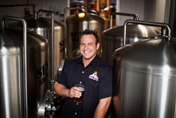 Bobby Baker, Head Brewer, Sea Dog Brew Pub, Clearwater, Florida