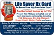 Cause Rx Launches Nationwide Life Saver Rx Card Prescription...