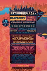 Governors Ball Line-up 2014, Tickets, Set Times, Forum, Governors Ball Ticket Prices