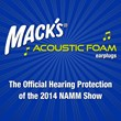 McKeon Products, Inc., Makers of Mack's® Ear Plugs, is the Official Hearing Protection of the 2014 NAMM® Show