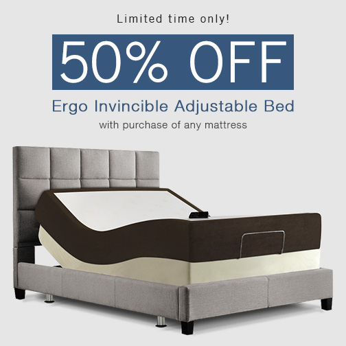 Amerisleep Offers 50 Off Adjustable Bed With Purchase Of Memory Foam Mattress For Limited Time