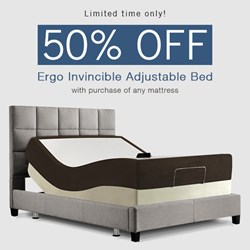Amerisleep Offers 50% Off Adjustable Bed With Purchase of Memory Foam Mattress, For Limited Time Only