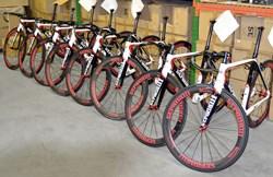 Stradalli RP14 Carbon Bikes Built for Pro-Team Colavita Fine Cooking