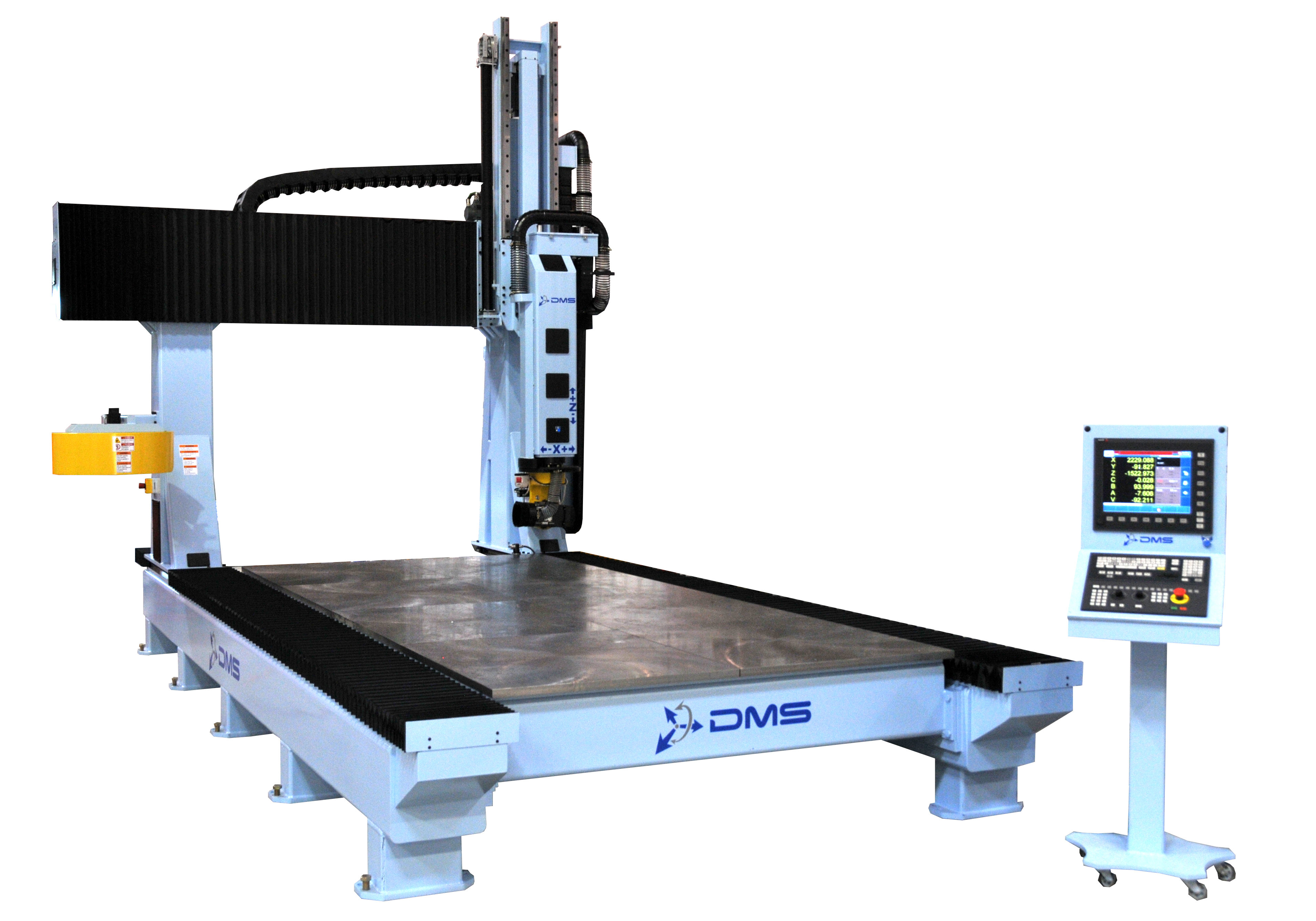 2014 Dms D3 3 Axis Cnc Router Announced By Diversified