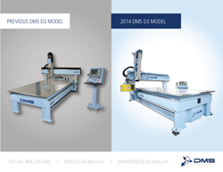 2014 DMS D3 3-Axis CNC Router Comparison