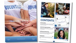 Cheerleading Blog University releases a new eBook on giving back to the community