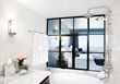 Deluxe ocean view room at Hotel Shangri-la at the Ocean