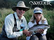 Husband and Wife Land Big Rainbow Trout
