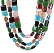 Three Strand Multi Color Crystal Necklaces Now Available on...