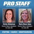 Two New Directors of Sales and Operations at Pro Staff