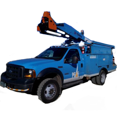 northern california pg e fleet bucket trucks and vehicles for sale at public auction jan 29. Black Bedroom Furniture Sets. Home Design Ideas