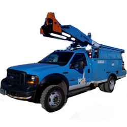 Dixon, Sacrament, California used bucket truck PG&E Auction of fleet vehicles