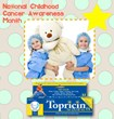 5% of Topricin for Children sales are donated to pediatric cancer foundations.