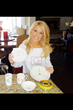 Gretchen Rossi Tweets about the SlimPlate System
